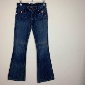 Rock & Republic- Dark Wash Flare Jeans size 26
